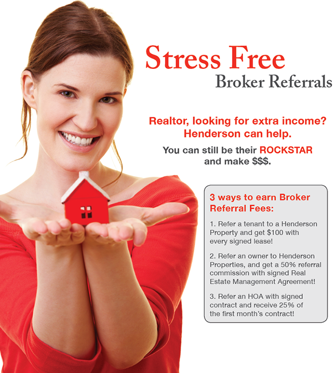 Henderson Properties Broker Referral Program