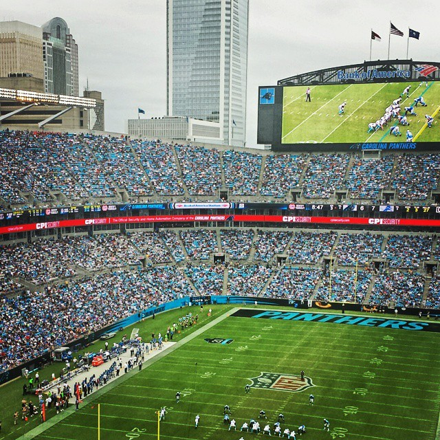Great day for a #Panthers win!