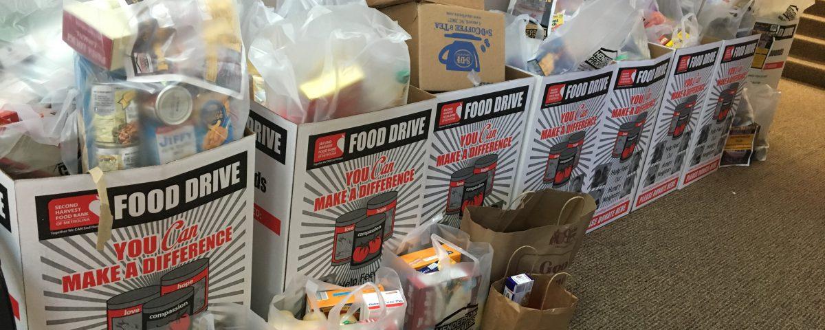 food drive north carolina